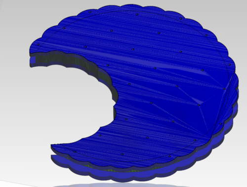 Kecks 3D Modell