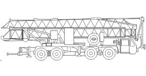 Kranfahrzeug - mobile crane