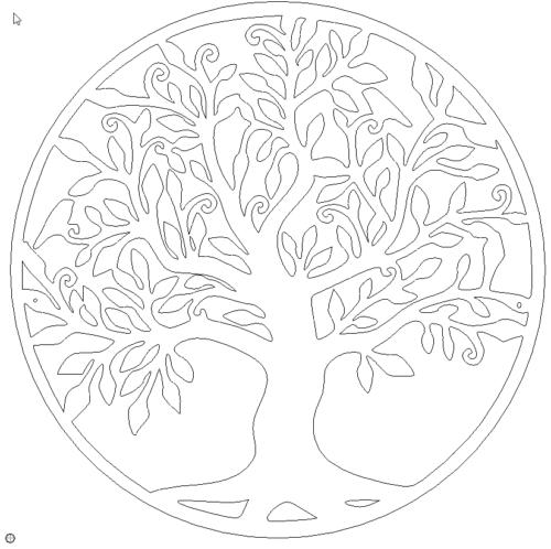 Schöner Lebensbaum