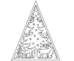 Lichterspitze Weihnachtsbaum