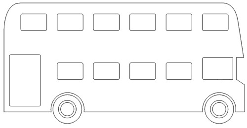 London (roter) Bus - London (red) Bus
