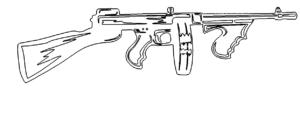 Maschinengewehr - Machine gun