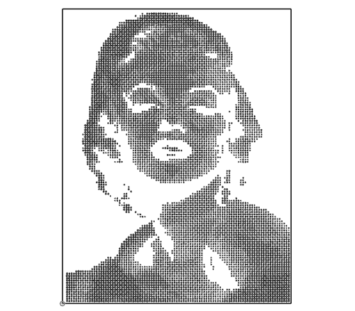 Marilyn Monroe Porträt