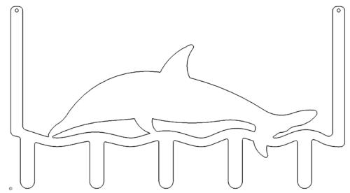 Türgarderobe Delphin - Door wardrobe Dolphin