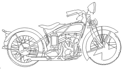 Motorrad - Motorbike