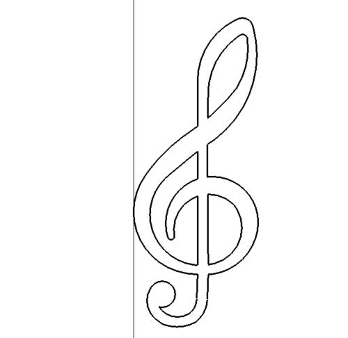 Notenschlüssel - clef