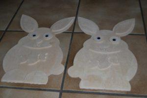 Osterhase als 3D Modell - Easter Bunny as 3D model
