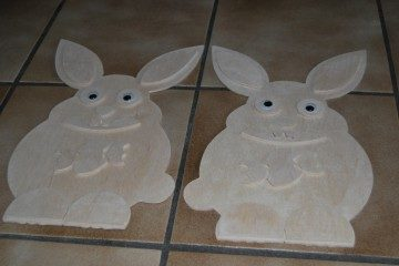 Osterhase als 3D Modell - Easter Bunny as 3D model