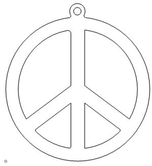 Friedenszeichen - Peace
