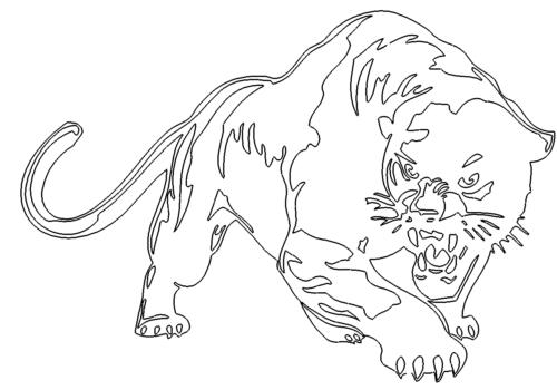 Gefährlicher Panther - Dangerous Panther