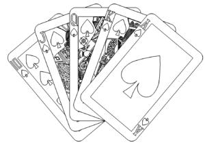 ROYALFLUSH Pokern Karten