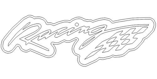 Rennflagge - Racing Flag