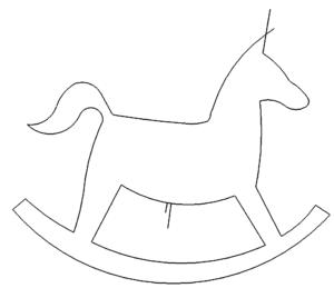 Schaukelpferd - rocking horse