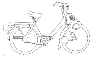 Fahrrad Mofa