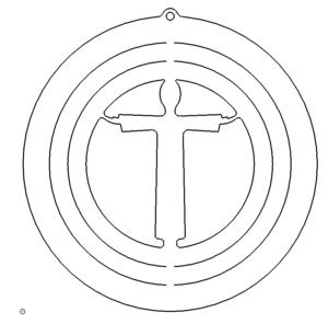 Windspiel Jesus