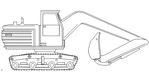 Schaufel - Bagger - Bucket - Excavator