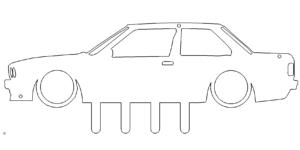 Schlüsselbrett Auto - Keyboard Car