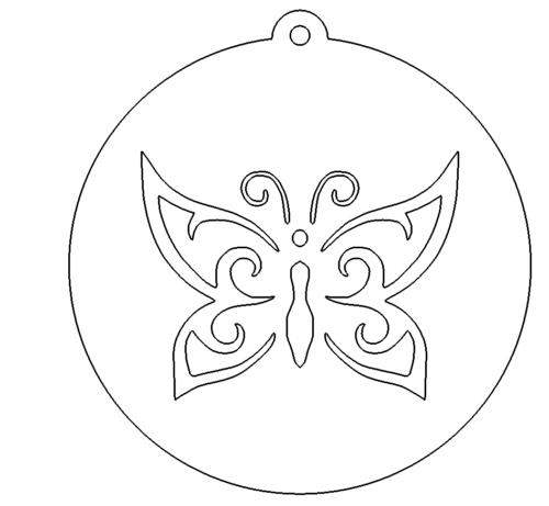 Schmetterling Anhänger - butterfly Pendant