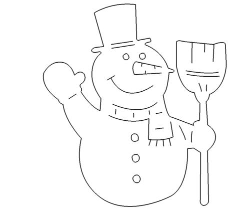 Schneemann - Snowman