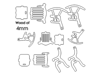 Schaukelstuhl - Rocking Chair