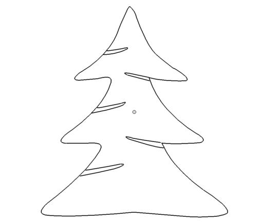 Tannenbaum Dxf.Tannenbaum Christmas Tree Das Download Portal Für Dxf Dwg Dateien