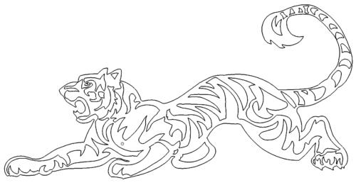 Tiger lauert - Tiger lurks
