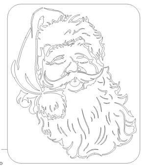 Weihnachtsmann Santa