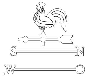Wetterhahn - Weathercock
