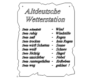 Wetterstation ? - Weatherstation