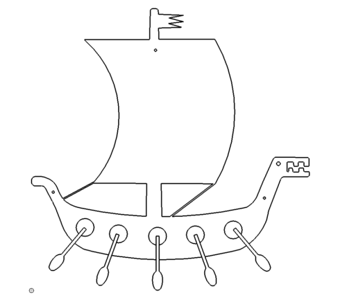 Wikingerschiff - Viking Ship