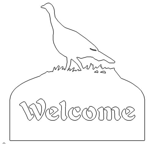 Welcome Willkommen Schild