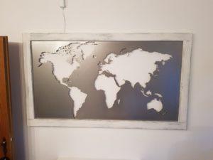 DXF Weltkarte - DXF World