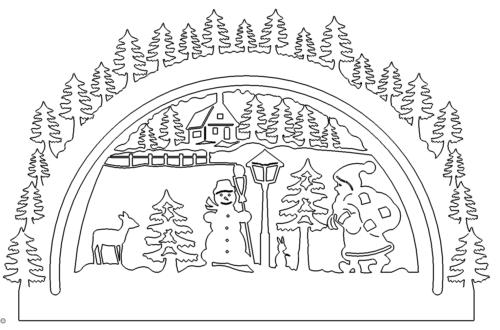 Winterlandschaft - winter landscape