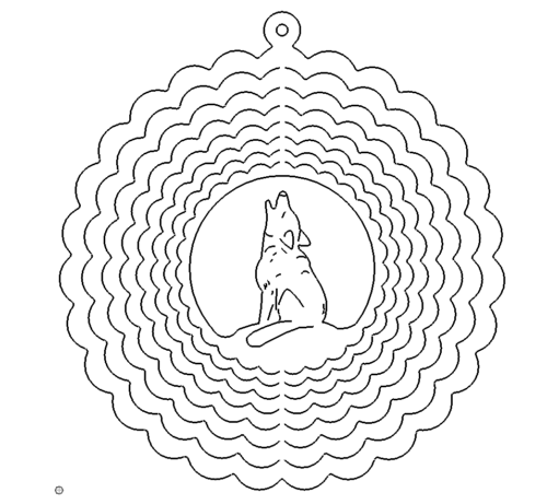 Wolf Schlüsselanhänger - Wolf Keychains