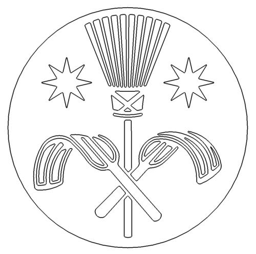 Zunftzeichen Schornsteinfeger - Guild signs chimney sweep