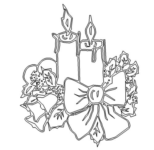 Adventskerzen - Advent Candles