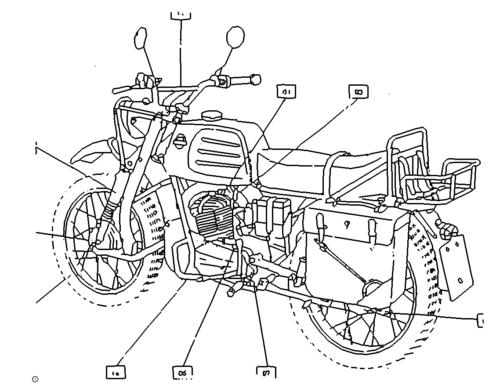 Altes Motorrad - Old Motorbike