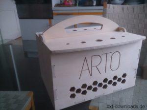 Arto Kiste 6mm - Arto Box 6mm