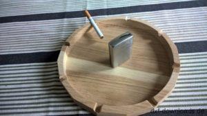 Aschenbecher 3D Modell - Ashtray 3D Model