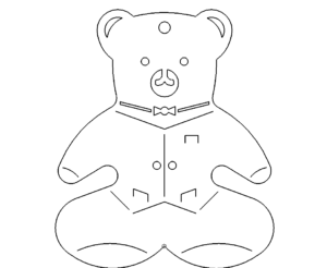 Bär für Kinder - Bear for Children