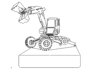 Bagger als Schild - Excavator as a shield