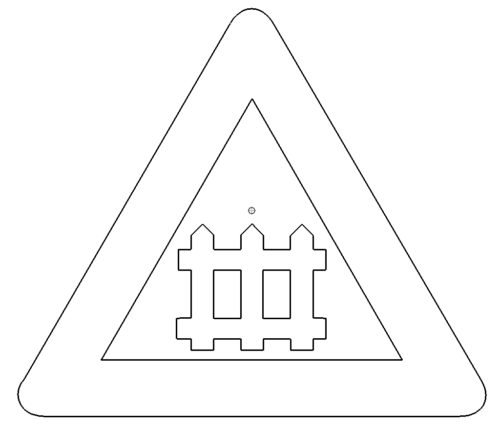 Bahnübergang - Level crossing
