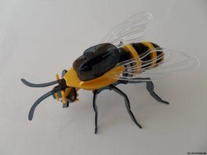 Biene 3D Modell - Bee 3D model
