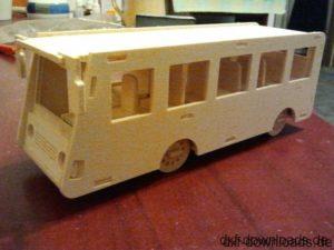 Bus 3D Modell