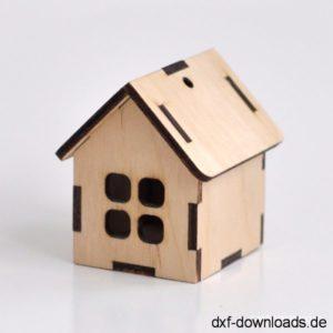 Vogelhaus 3D Modell - Birdhouse 3D model