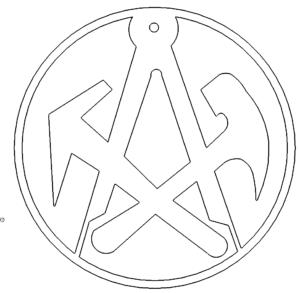 Dachdecker Zunftzeichen - Roofers Guild signs