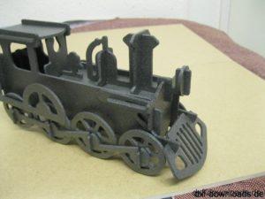 Dampflok 3D Modell - Steam Locomotive 3D model
