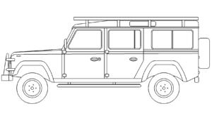 Fahrzeug Defender