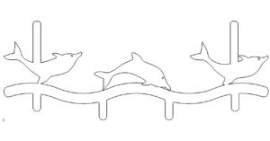 Delphin Tuergarderobe - Dolphin door wardrobe