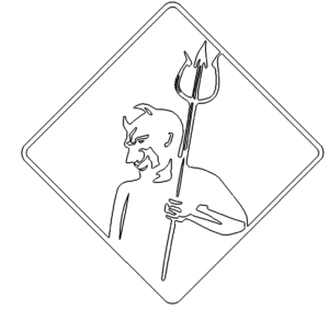 Teufel als Schild - Devil as a shield